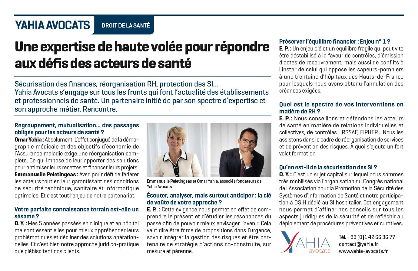 Le Figaro - Interview du cabinet Yahia Avocats - 9 juin 2021