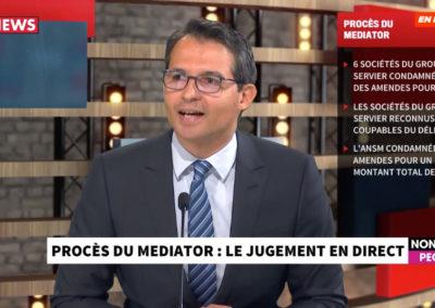 Procès du Médiator : Intervention de Me Omar YAHIA sur CNEWS